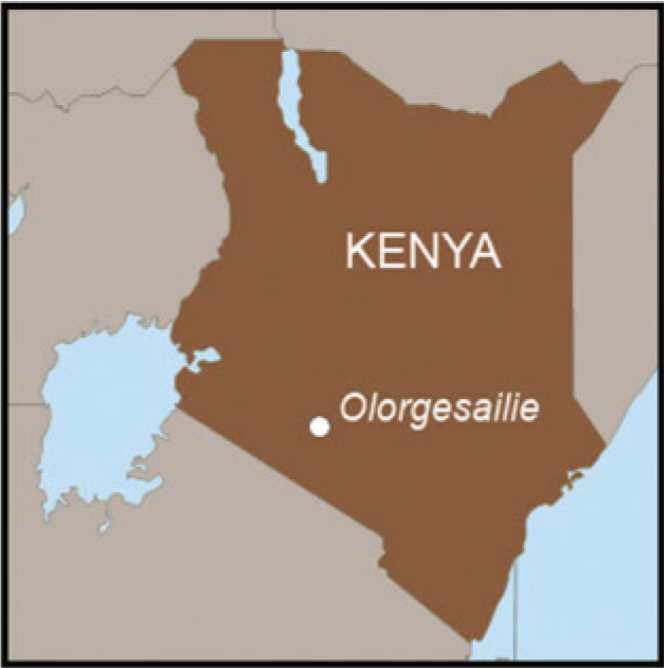 The Olorgesailie Basin in Kenya has been the focus of paleoanthropological research for several years. (Credit Brooks et al 2018))