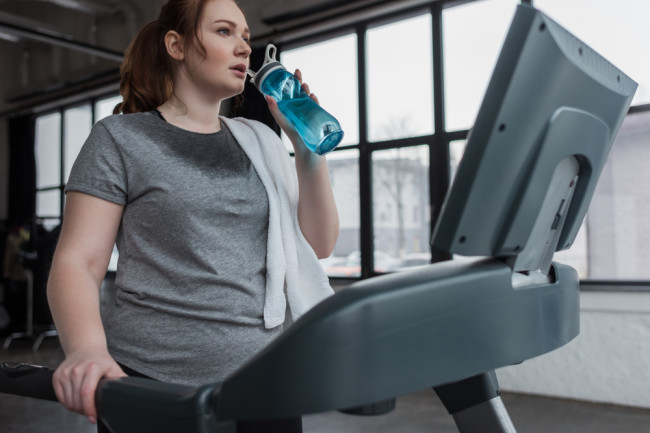 Exercise Treadmill Weight Loss - Shutterstock