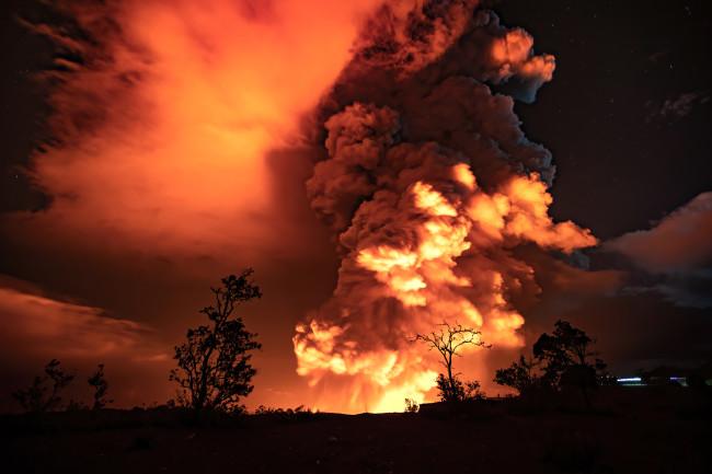 Eruption of the Kīlauea Volcano