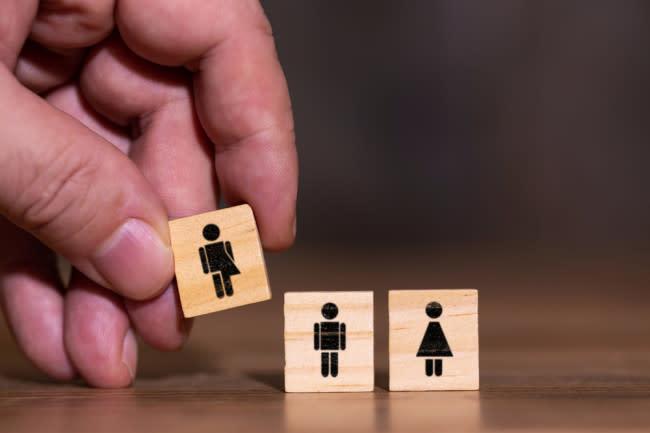 Gender Spectrum - Shutterstock