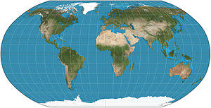 Robinson Projection - Wikimedia Commons