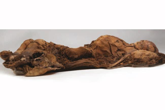 Inuit mummy