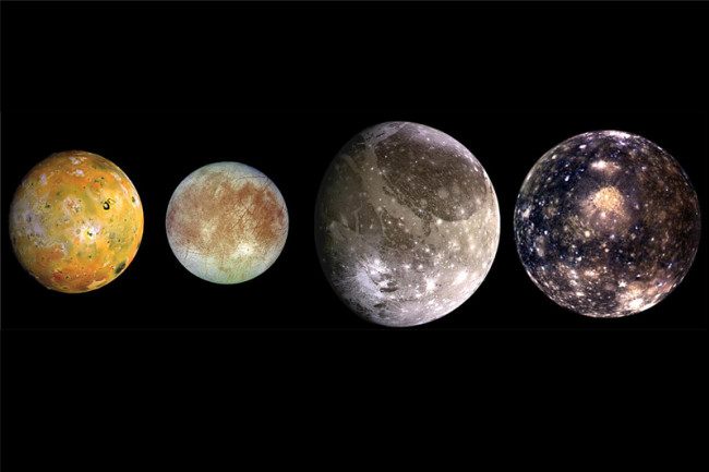 Galilean Moons Jupiter
