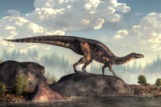 plateosaurus dinosaur - shutterstock