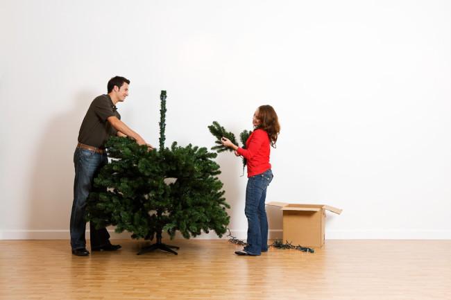 Artificial Christmas tree - Shutterstock