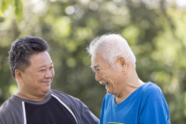Old Elderly Person - Shutterstock