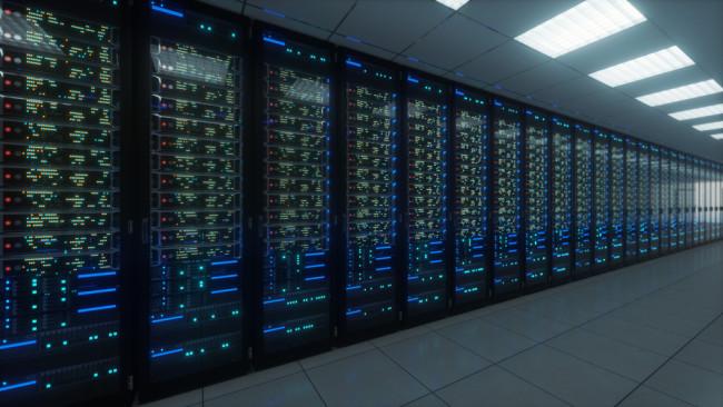 Computer servers in data center - Shutterstock