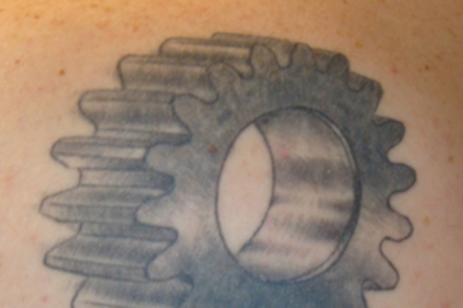 Gear Tattoo300