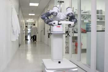 Meet YuMi: A Robot Nurse Built to Make the Rounds