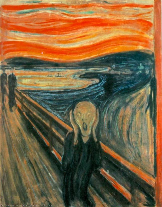 Edvard-Munch-The-Scream - wikimedia commons