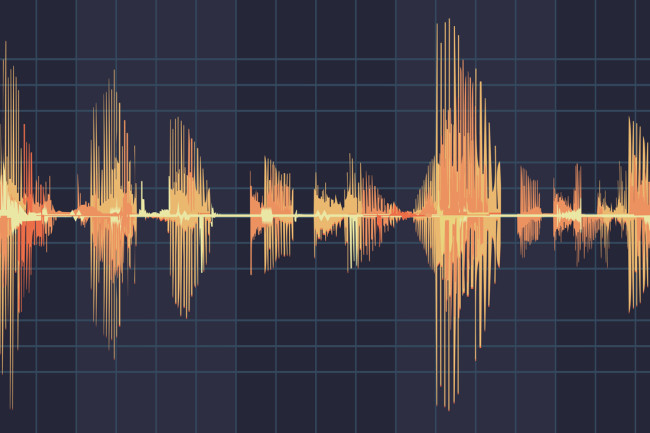 Audio sound graph