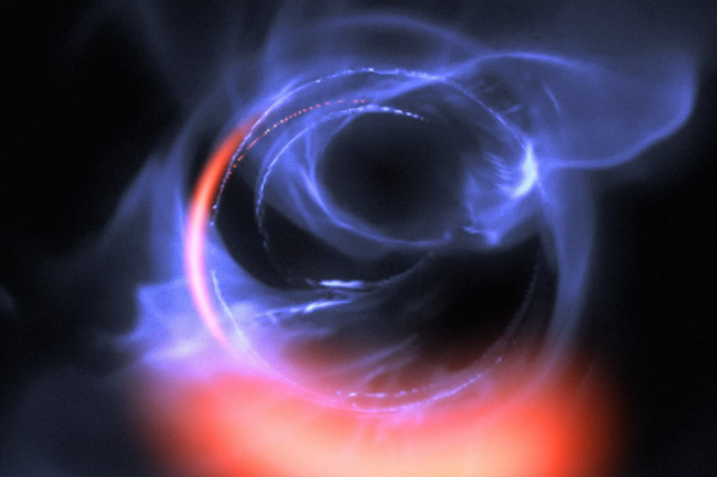 Using the ESO's sensitive GRAVITY instrument, researchers have confirmed that the enormous object at the heart of our galaxy is - as scientists have assumed for many years - a supermassive black hole. (Credit: ESO/Gravity Consortium/L. Calçada)