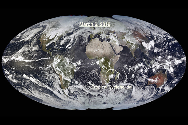 View of Earth March 6 2019