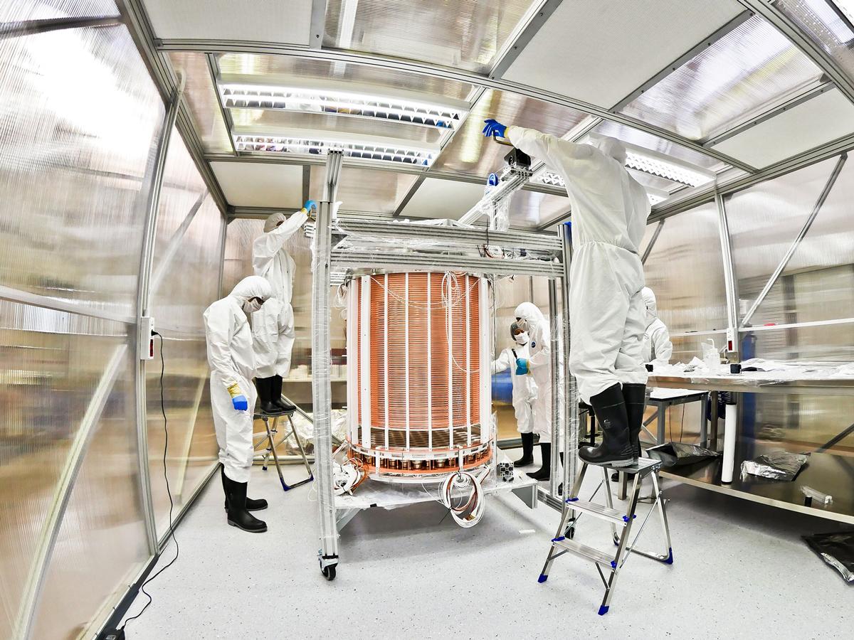 Xenon1T Detector - Xenon Collaboration
