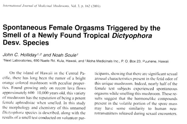 Image result for hawaiian mushrooms and orgasms