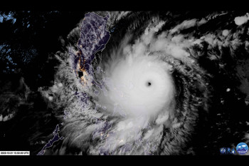 Super Typhoon Goni Churns Toward the Philippines as the Globe's Strongest Storm of 2020
