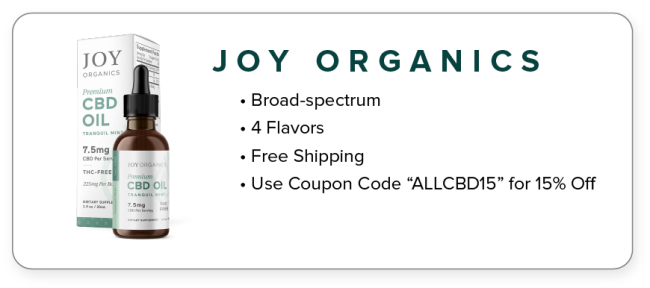 joy organics cbd for anxiety