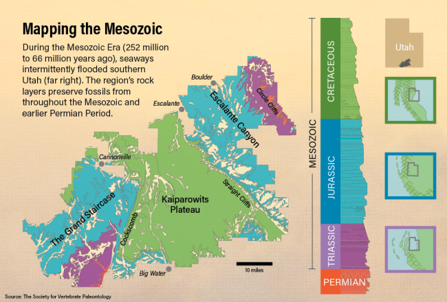 Mapping the Mesozoic - Bishop/Discover
