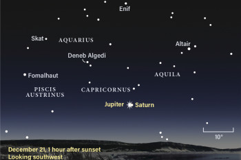 "Jupiter and Saturn Will Form Rare ""Christmas Star"" on Winter Solstice"