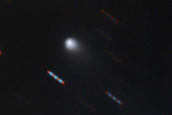 New Interstellar Comet is 'Very Red', Initial Results Show