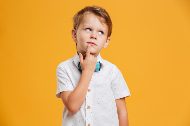 Kid Thinking - Shutterstock