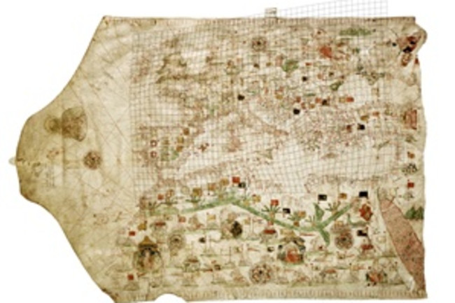 Portolan Chart 1475 - Library of Congress