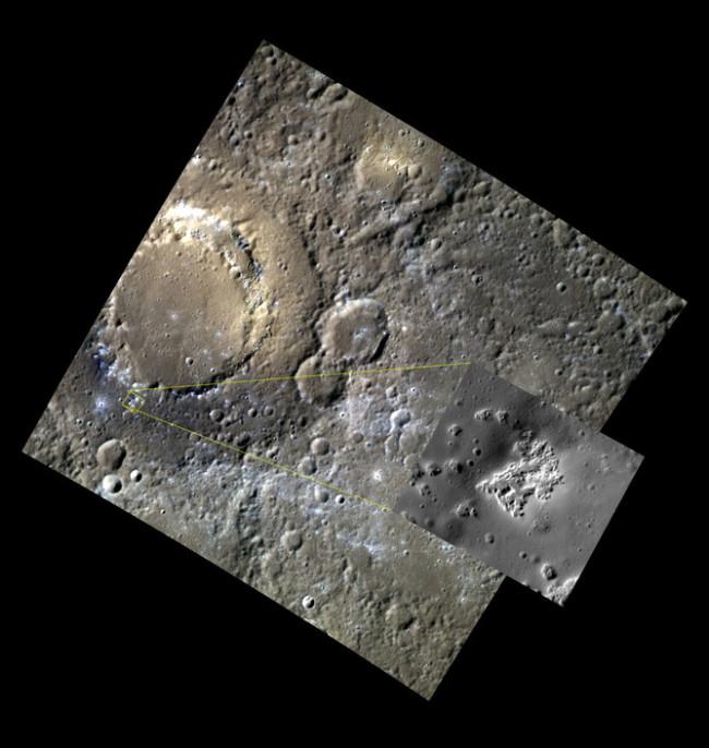 Scarlatti Crater Mercury