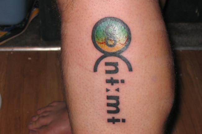 pauite tattoo - courtesy