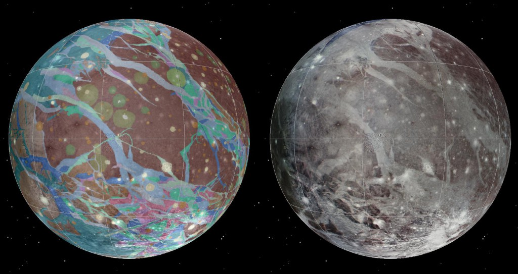 Solar System's Biggest Moon, Ganymede, Mapped [VIDEO]