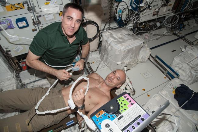 NASA Chris Cassidy Medical Experiment