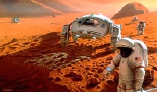 Mars colony NASA
