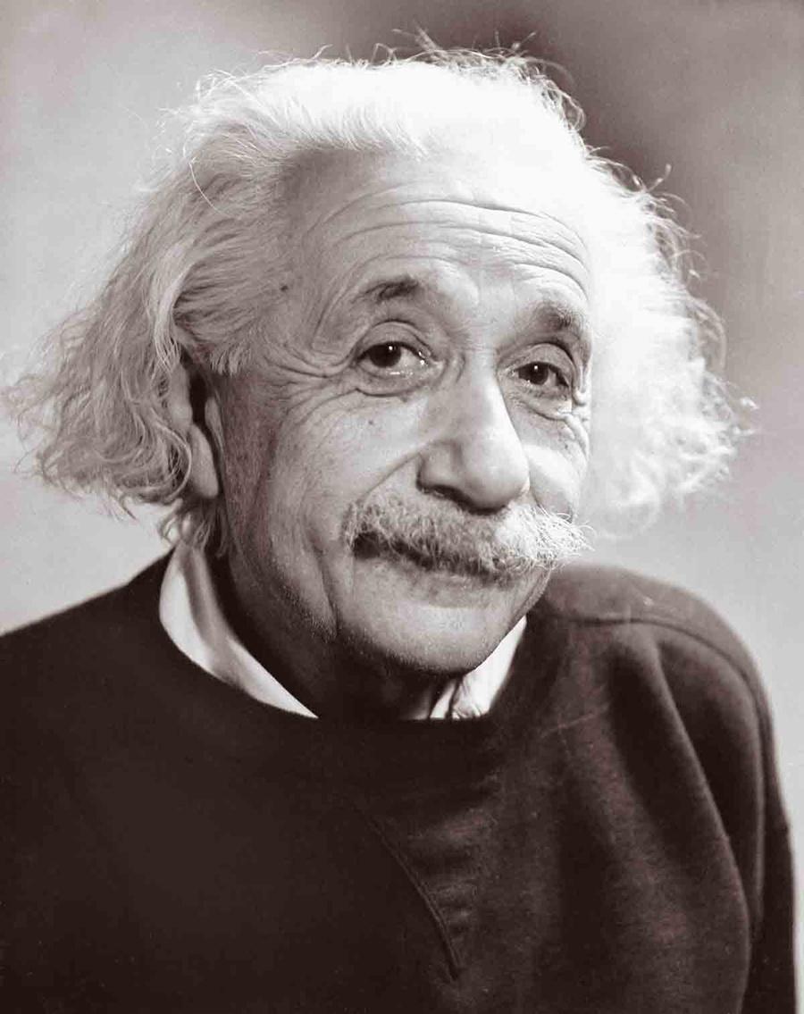 All in Einstein's Head
