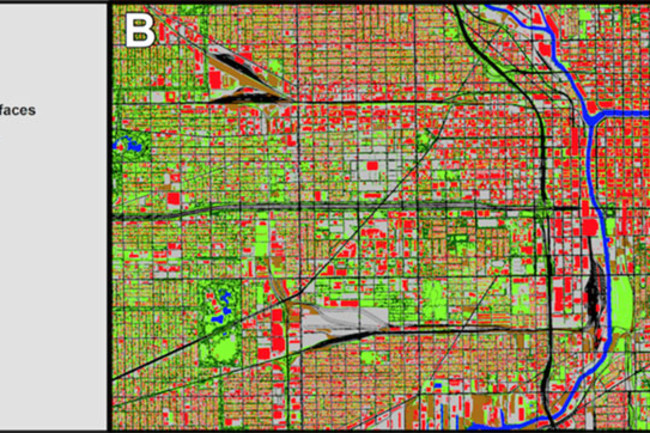 Chicago land cover - Frontiers in Eco and Evo