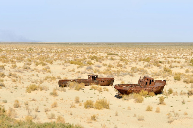 Aral Sea, Dry, Drought - Alamy