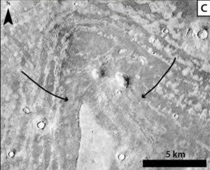 Mars Thumbprint - AGU