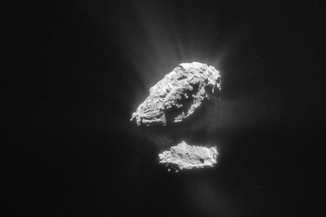 Comet in May 2015 - ESA