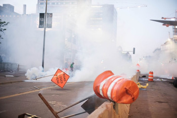 Tear Gassing Protesters Could Increase Their Risk for COVID-19