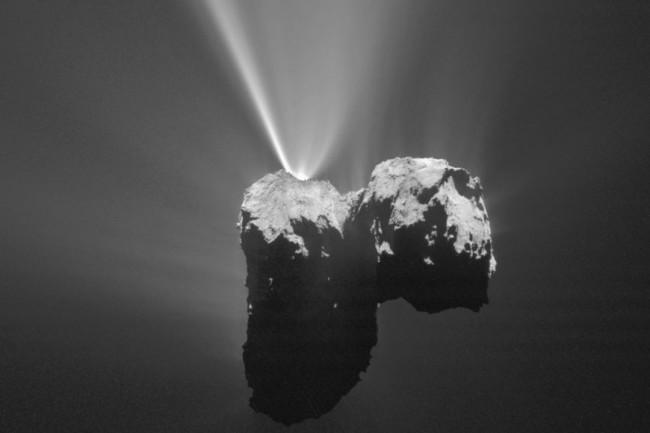 Comet 67P Churyumov-Gerasimenko - ESA