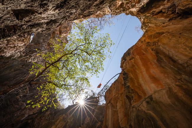 Harasib shaft