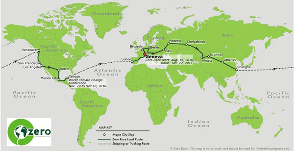 Around the World in 80 Days: Electric Car Race Begins ...