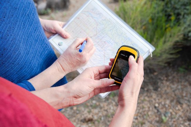 GPS and Map - Nesta