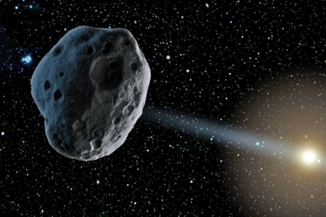 New research suggests the asteroid 2015 BZ509 may have originally traveled to the solar system from another star. (Credit: NASA/JPL)