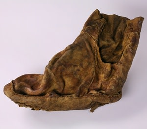 Ancient Alaskan Footwear Artifact - University of Alaska Museum of the North