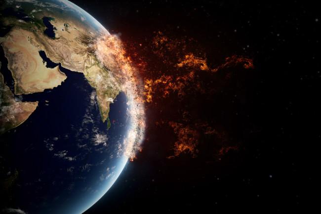 Earth extinction concept - shutterstock