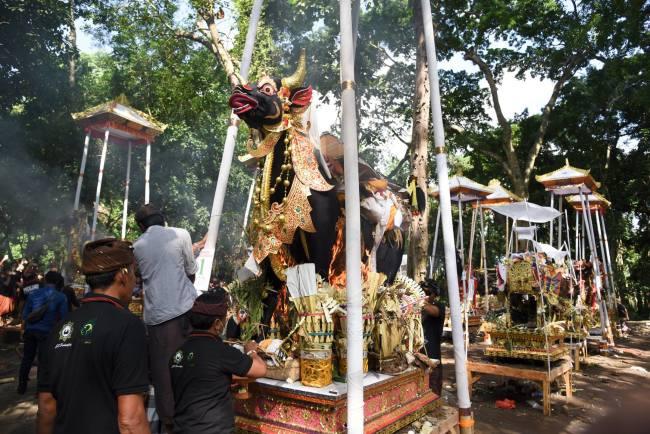 cremation ceremony - Bali - death