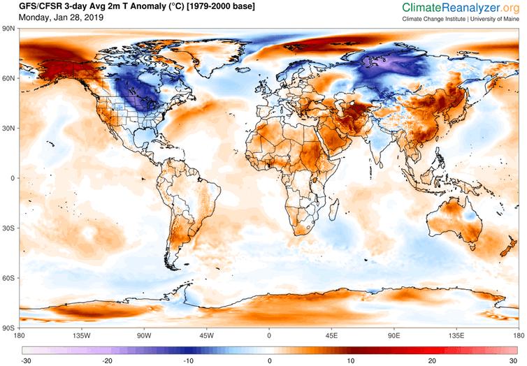 world temperatures