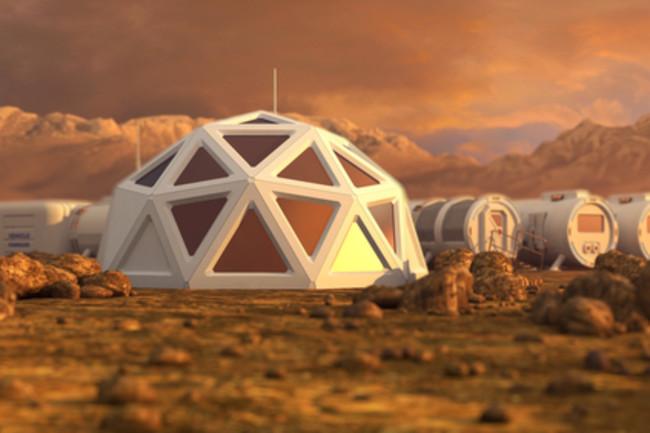 Mars Settlement Colony - Shutterstock