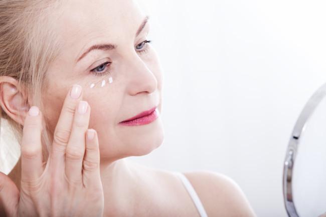 Woman Skin Aging Lotion - Shutterstock
