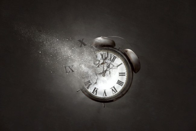 Time Travel Clock - Shutterstock