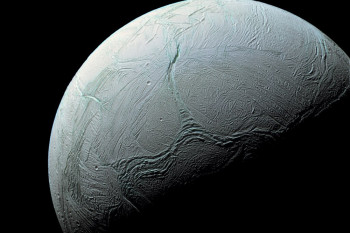 How Enceladus Got Its Stripes